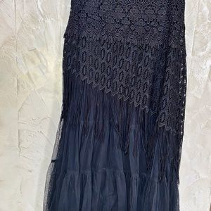 Gorgeous with Lace and Fringe, Never Worn
